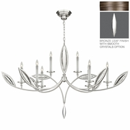 Fine Art Lamps 843840 Marquise 62  Wide Chandelier Lamp