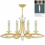 Fine Art Lamps 843940 Marquise 26  Tall Chandelier Light