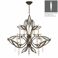 Fine Art Lamps 844140 Marquise 44 Tall Hanging Chandelier