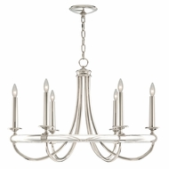 Fine Art Lamps 846140 Grosvenor Square Nickel Plated Solid Brass Finish 34 Wide Ceiling Chandelier