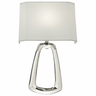 Fine Art Lamps 847250 Grosvenor Square Modern Polished Nickel Finish 15  Tall Lighting Wall Sconce