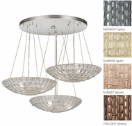 Fine Art Lamps 848240 Constructivism Contemporary 29  Wide Multi Hanging Pendant Lighting