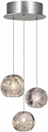 Fine Art Lamps 852340-106ST Natural Inspirations Contemporary Silver Halogen Multi Hanging Light