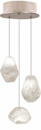Fine Art Lamps 852340-23ST Natural Inspirations Contemporary Gold Halogen Multi Drop Ceiling Lighting