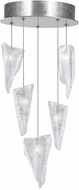 Fine Art Lamps 852440-108ST Natural Inspirations Modern Silver Halogen Multi Drop Ceiling Lighting