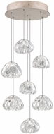 Fine Art Lamps 852640-207ST Natural Inspirations Contemporary Gold Halogen Multi Pendant Lighting