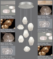 Fine Art Lamps 852640 Natural Inspirations 14 - 129  Tall Halogen Multi Ceiling Pendant Light