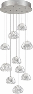 Fine Art Lamps 852840-107ST Natural Inspirations Contemporary Silver Halogen Multi Lighting Pendant