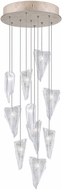 Fine Art Lamps 852840-208ST Natural Inspirations Modern Gold Halogen Multi Hanging Light