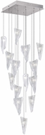 Fine Art Lamps 853040-108ST Natural Inspirations Modern Silver Halogen Multi Pendant Lighting Fixture