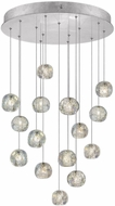 Fine Art Lamps 853140-106ST Natural Inspirations Modern Silver Halogen Multi Pendant Lighting