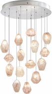 Fine Art Lamps 853140-14ST Natural Inspirations Modern Silver Halogen Multi Lighting Pendant