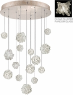 Fine Art Lamps 853140-202ST Natural Inspirations Contemporary Gold Halogen Multi Pendant Lamp