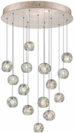 Fine Art Lamps 853140-206ST Natural Inspirations Contemporary Gold Halogen Multi Hanging Light