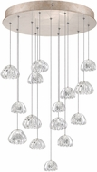 Fine Art Lamps 853140-207ST Natural Inspirations Contemporary Gold Halogen Multi Drop Lighting