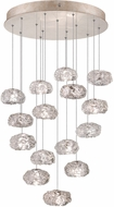 Fine Art Lamps 853140-21ST Natural Inspirations Modern Gold Halogen Multi Pendant Light Fixture