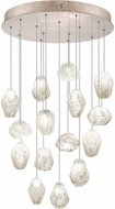 Fine Art Lamps 853140-23ST Natural Inspirations Contemporary Gold Halogen Multi Pendant Lighting Fixture