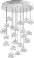 Fine Art Lamps 853240-107ST Natural Inspirations Contemporary Silver Halogen Multi Ceiling Light Pendant
