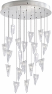 Fine Art Lamps 853240-108ST Natural Inspirations Modern Silver Halogen Multi Ceiling Pendant Light