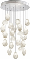 Fine Art Lamps 853240-13ST Natural Inspirations Modern Silver Halogen Multi Drop Lighting