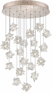 Fine Art Lamps 853240-202ST Natural Inspirations Modern Gold Halogen Multi Ceiling Light Pendant