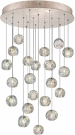 Fine Art Lamps 853240-206ST Natural Inspirations Modern Gold Halogen Multi Drop Ceiling Light Fixture