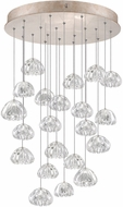 Fine Art Lamps 853240-207ST Natural Inspirations Contemporary Gold Halogen Multi Drop Ceiling Light Fixture
