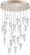 Fine Art Lamps 853240-208ST Natural Inspirations Modern Gold Halogen Multi Drop Lighting Fixture