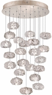 Fine Art Lamps 853240-21ST Natural Inspirations Contemporary Gold Halogen Multi Drop Lighting Fixture