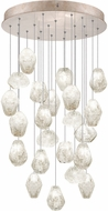 Fine Art Lamps 853240-23ST Natural Inspirations Modern Gold Halogen Multi Pendant Lighting
