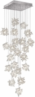 Fine Art Lamps 853340-102ST Natural Inspirations Modern Silver Halogen Multi Lighting Pendant