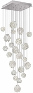 Fine Art Lamps 853340-105ST Natural Inspirations Contemporary Silver Halogen Multi Pendant Lamp