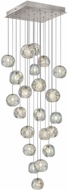 Fine Art Lamps 853340-106ST Natural Inspirations Modern Silver Halogen Multi Hanging Lamp