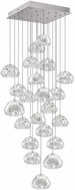 Fine Art Lamps 853340-107ST Natural Inspirations Contemporary Silver Halogen Multi Pendant Lighting