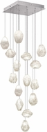 Fine Art Lamps 853340-13ST Natural Inspirations Contemporary Silver Halogen Multi Hanging Light