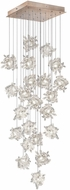 Fine Art Lamps 853340-202ST Natural Inspirations Contemporary Gold Halogen Multi Pendant Lighting Fixture