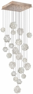 Fine Art Lamps 853340-205ST Natural Inspirations Modern Gold Halogen Multi Hanging Pendant Lighting