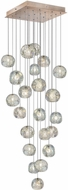 Fine Art Lamps 853340-206ST Natural Inspirations Contemporary Gold Halogen Multi Hanging Pendant Light