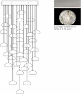 Fine Art Lamps 853440-106ST Natural Inspirations Contemporary Silver Halogen Multi Ceiling Pendant Light