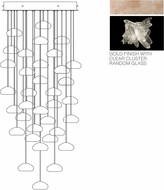 Fine Art Lamps 853440-202ST Natural Inspirations Modern Gold Halogen Multi Pendant Lighting
