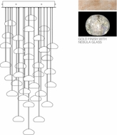 Fine Art Lamps 853440-206ST Natural Inspirations Modern Gold Halogen Multi Lighting Pendant