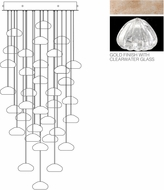 Fine Art Lamps 853440-207ST Natural Inspirations Contemporary Gold Halogen Multi Pendant Light Fixture