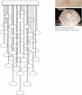 Fine Art Lamps 853440-23ST Natural Inspirations Modern Gold Halogen Multi Hanging Lamp