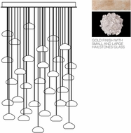 Fine Art Lamps 853540-205ST Natural Inspirations Modern Gold Halogen Multi Drop Lighting