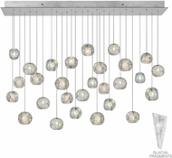 Fine Art Lamps 853640-108ST Natural Inspirations Modern Silver Halogen Multi Drop Ceiling Lighting