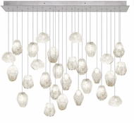 Fine Art Lamps 853640-13ST Natural Inspirations Modern Silver Halogen Multi Pendant Lighting
