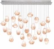 Fine Art Lamps 853640-14ST Natural Inspirations Contemporary Silver Halogen Multi Pendant Light