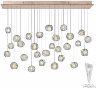 Fine Art Lamps 853640-208ST Natural Inspirations Modern Gold Halogen Multi Ceiling Pendant Light