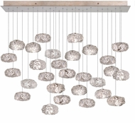 Fine Art Lamps 853740-11ST Natural Inspirations Modern Silver Halogen Multi Lighting Pendant
