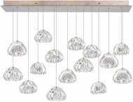 Fine Art Lamps 853740-207ST Natural Inspirations Contemporary Gold Halogen Multi Pendant Lighting